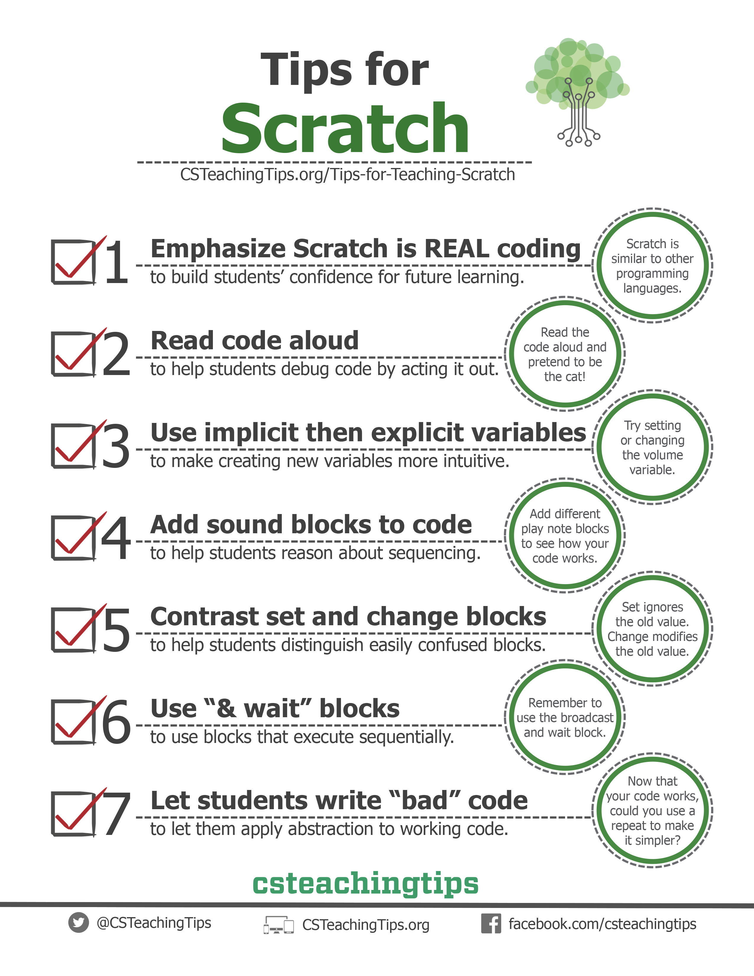 Tips for Teaching Scratch
